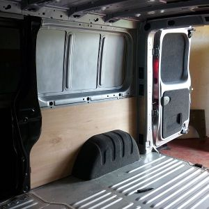 Wheel archers Carpeted & Rear Doors