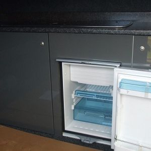 Waeco CR50 12v fridge with freezer compartment