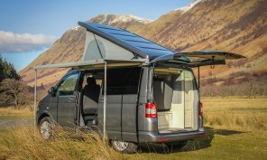 VW T5 Highline Campervan Conversion with SCA 190Comfort front elevating pop top roof