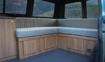 Campervan Furniture Oak