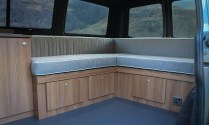 Campervan Furniture Oak