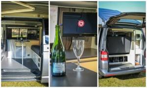 VW T5 Highline Campervan Conversion 4 Berth Pop Top Roof SCA 190Comfort