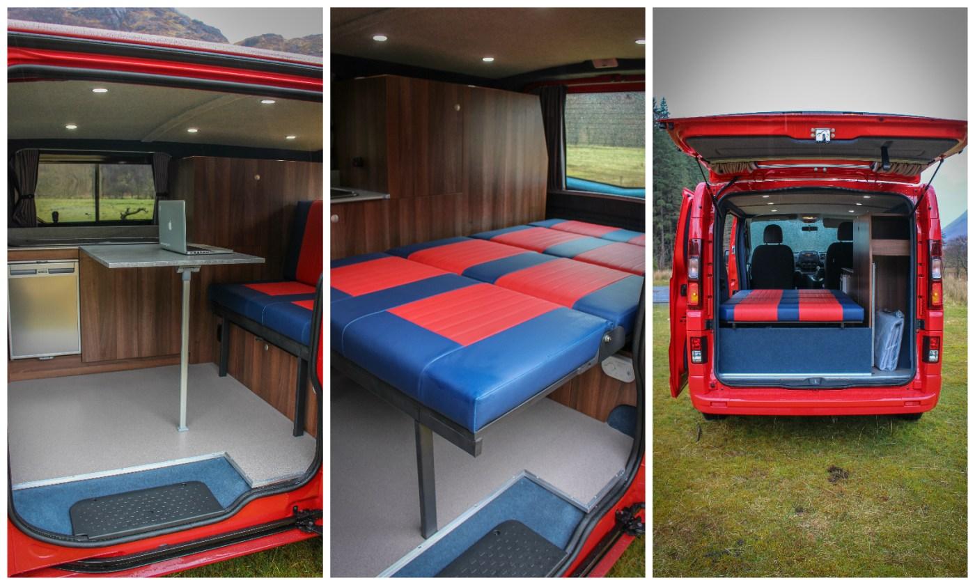 Vauxhall Vivaro Sportive Campervan