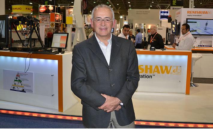 El director General de EJkrause, José Navarro, afirma que ExpoManufactura 2014 es una de las ferias más importantes tanto a nivel nacional como internacional para la industria manufacturera. (Foto: VI).