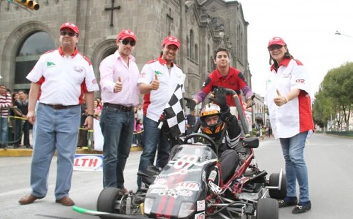 la Industria Nacional de Autopartes (INA), presentó el lanzamiento del Campeonato Toyota Electratón LTH 2014,  que se llevará  a cabo en diferentes estados del país. (Foto: Al Volante).