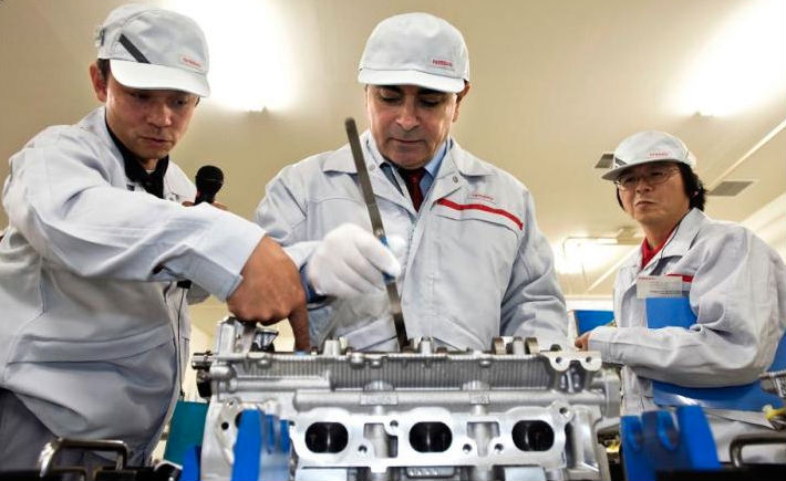 El éxito como gerente o líder está ligado al éxito de todo el equipo de colaboradores, asegura Carlos Ghosn. (Foto: Nissan)