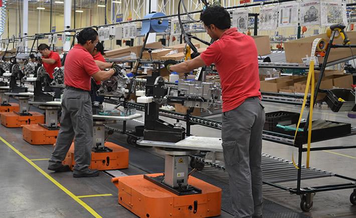 Fabricación de equipo de transporte, otras industrias manufactureras, accesorios, aparatos eléctricos, los que más crecieron. (Foto: VI).