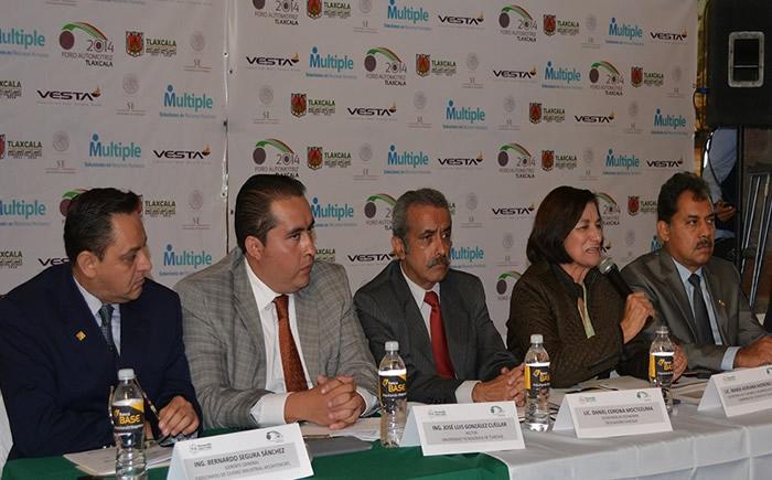 Adriana Moreno Durán manifestó que a lo largo de cuatro años el Foro Automotriz ha logrado 800 encuentros de negocios y una derrama económica de 98.7 millones de dólares. (Foto: VI)