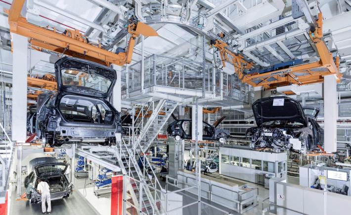 A Brasil, México exporta 300 mdd de autopartes con bajo contenido regional. (Foto: Audi)