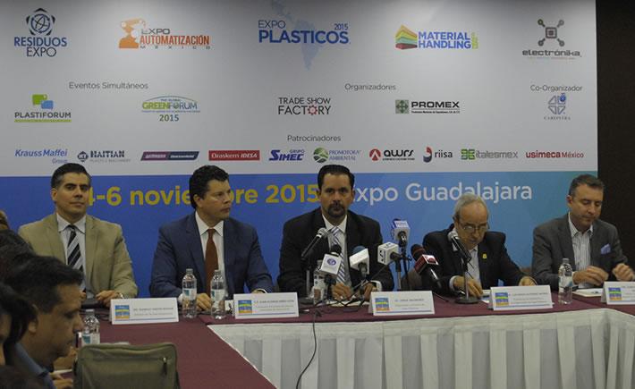 Expo Plásticos 2015, tendrá lugar en la Ciudad de Guadalajara, Jalisco del 4 al 6 de noviembre. (Foto: Expo Plásticos 2015)