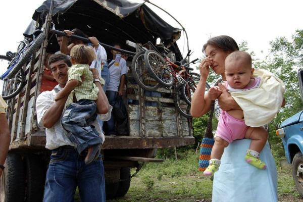 Resultado de imagen de desplazados