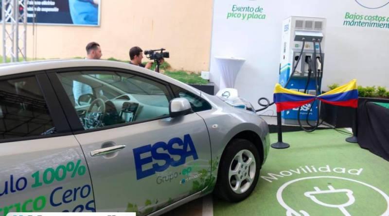 BUCARAMANGA. Estación para recargar carros eléctricos, instaló la ESSA