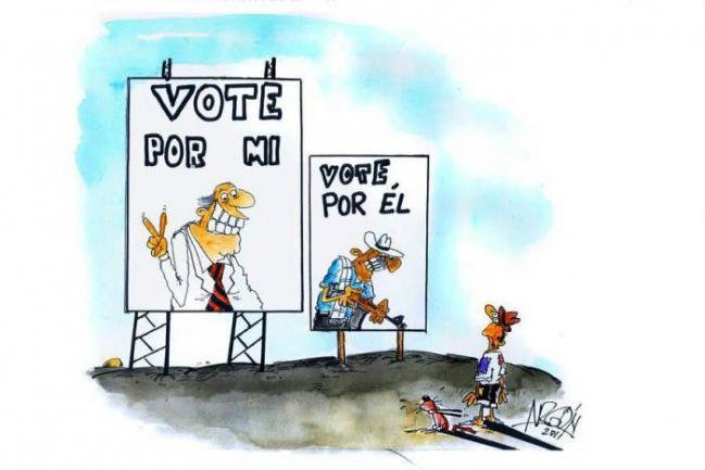 Resultado de imagen para publicidad politica pagada