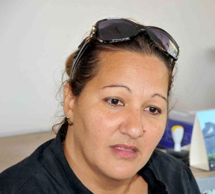 Yohorquis Benavides, licenciada en Rehabilitación Social y Ocupacional.