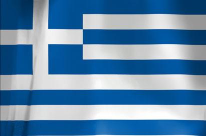 Bandera de Grecia.