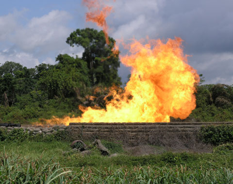 Nigeria's gas flaring drops by 65% in 10 years - Vanguard News