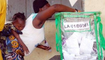 Image result for Voting cubicu in Nigeria