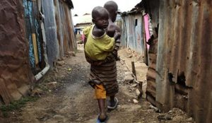 File photo: Poverty, hunger in the land