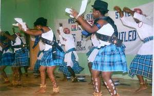 *A cultural performance by the corps members