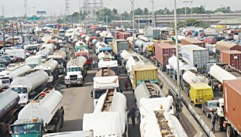 Image result for House of Reps expresses worry over traffic gridlock in Apapa