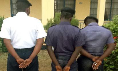 Security operatives arrest 4 impostors of proscribed Nigerian Merchant Naval Corps