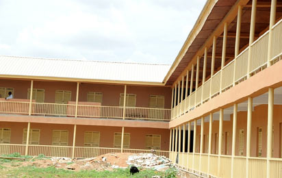 *One of the new model schools built by the state government