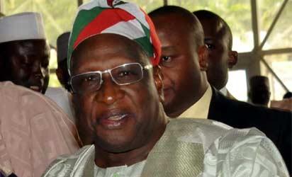 *PDP National Chairman, Dr Bamanga Tukur