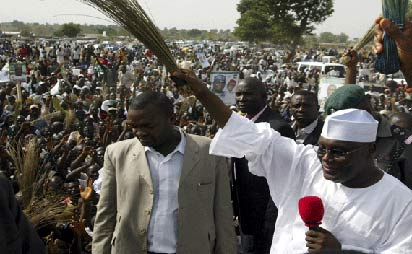 *Atiku on the campaign rostrum in the days of the former Action Congress party