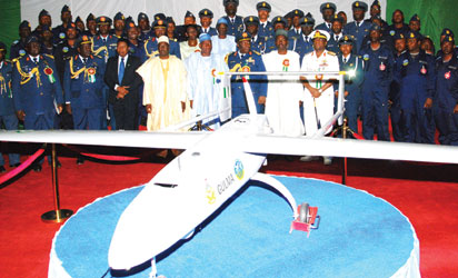 UNVEILING OF 'GULMA' NIGERIA'S FIRST INDIGENOUS UNMANNED AERIAL VEHICLE IN KADUNA