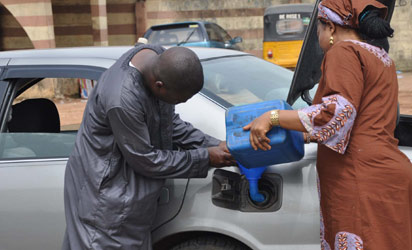 Black market thrives as fuel scarcity hits Lagos. Photo: Bunmi Azeez