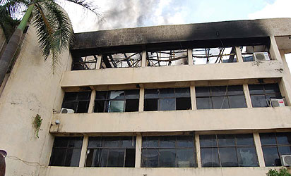 Razed NFF secretariat
