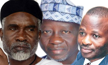 Nyako, Al-Makura and Onyebuchi