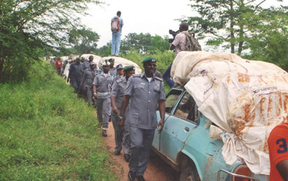 Customs boss in smugglers forest - Vanguard News