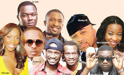 Nigerian talente music artists