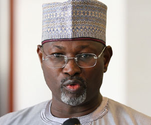 Chairman of the Independent National Electoral Commission, INEC,  Prof. Attahiru Jega