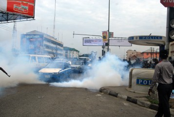 Rivers Women Protest over Presidential and National Assembly Elections in Rivers