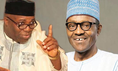 Doyin Okupe and President elect, General Mohammed Buhari