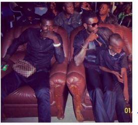 Adebayor and his brother, Rotimi
