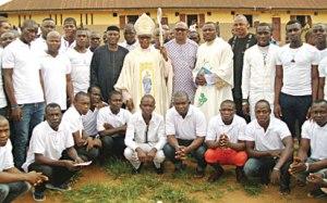 Archbishop Okeke visits Onitsha prisons