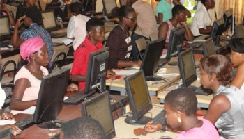 Image result for FG lifts ban on UTME, pegs cut-off mark at 120