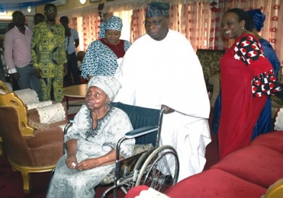 HID Awolowo and former President, Olusegun Obasanjo
