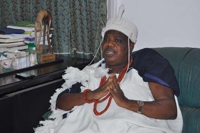 Attah of Aiyede Kingdom, in Ekiti State, Oba Abdul-Mumini Adebayo Orisagbemi