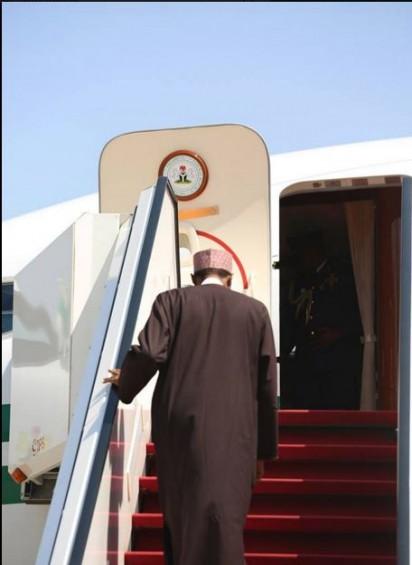 Buhari-leaving