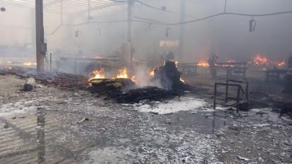 Sarafoam fire