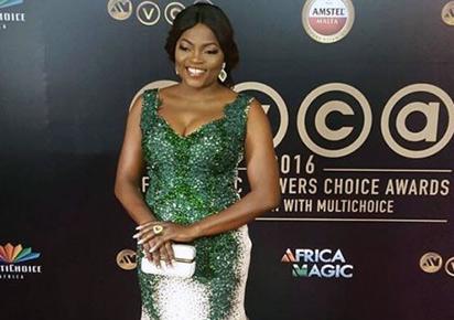 Funke Akindele at the awards