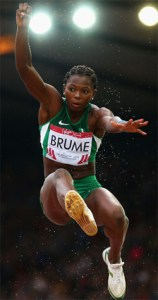 Ese Brume, Long Jump