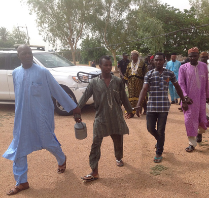 File: Suspects arraigned at Kano Chief Magistrate Court 20 on Friday, 10 June, over their involvement in the gruesome murder of Mrs. Bridget Agbahime at Kofar Wambai market, Thursday, June 2, 2016