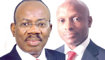 Jim Ovia, Chairman, Zenith Bank Plc and Peter Amangbo, MD/CEO, Zenith Bank Plc