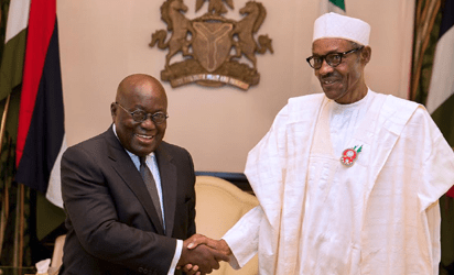 Buhari, Akufo-Addo meet in Aso Rock over protest by Nigerian traders in Ghana
