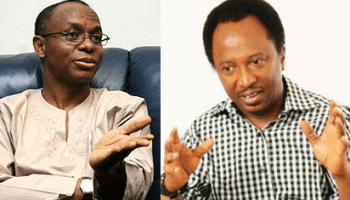 Image result for El-Rufai and Shehu Sani